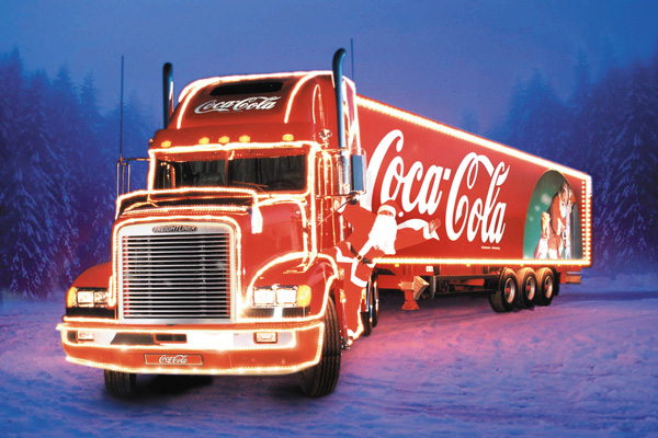 Coca-Cola. Holidays are coming (Creative Artists Agency, 1995).