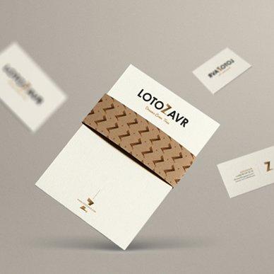 Назва і фірмовий стиль для сервісу Lotozavr