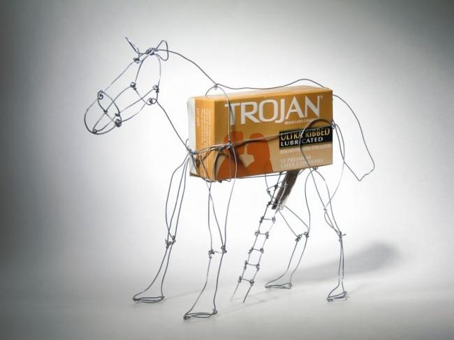 Креативная реклама, необычное фото