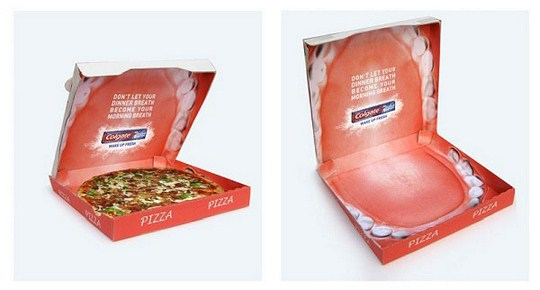 Креативная упаковка, реклама