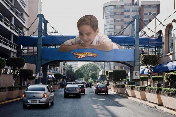 креативная наружка, реклама, билборд