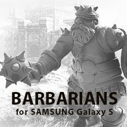 """Facebook game """"The Barbarians"""""""