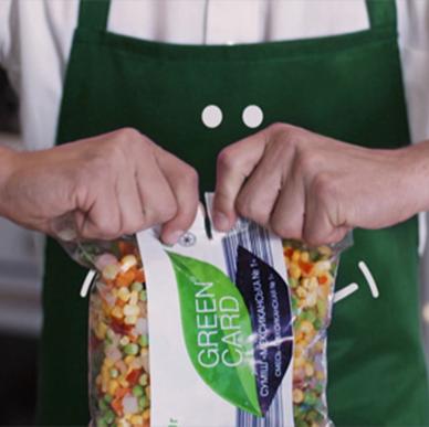 Відеоролик для швидкозаморожених свіжих овочів ТМ «Green Card»