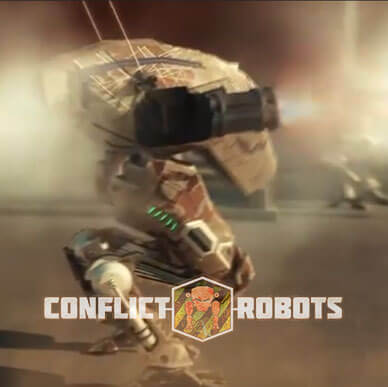 Promo video for an online game Conflict Robots