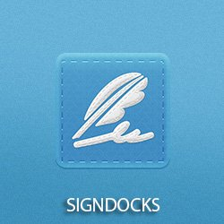 "Electronic signature app ""SIGNDOC"""