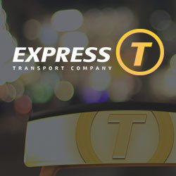 Corporate identity for the Express-T transport company