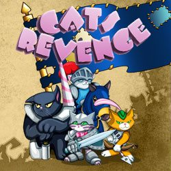 "Mobile game ""CATS REVENGE"""