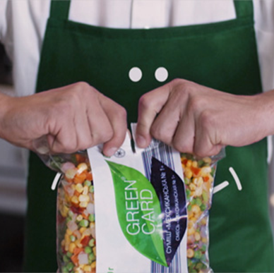 Video for frozen fresh vegetables TM «Green Card»