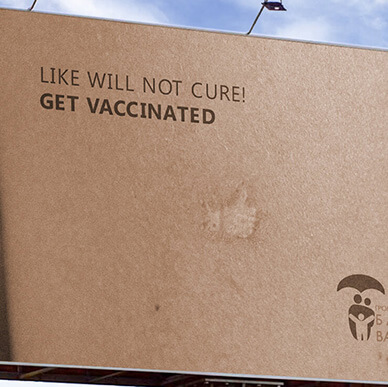 SOCIAL ADVERTISING OF VACCINATION