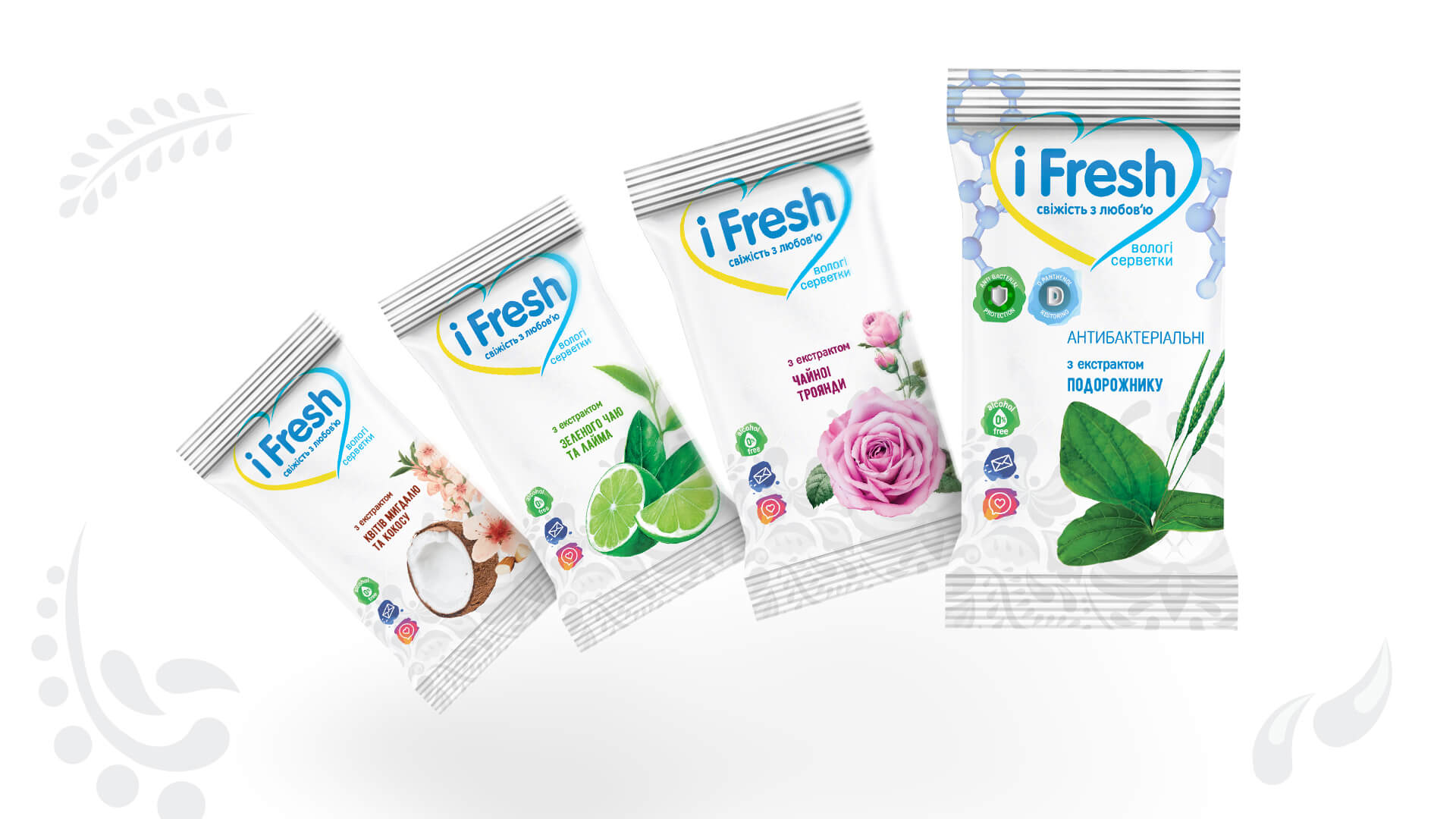 Logo and packaging design for iFresh